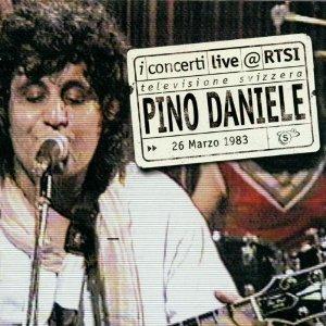 Pino Daniele Live @ RTSI fronte