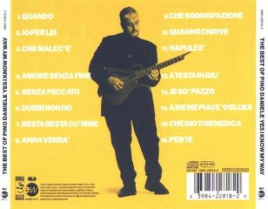 pino daniele yes i know my way retro