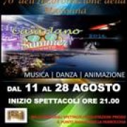 Casarlano Summer Events 2016