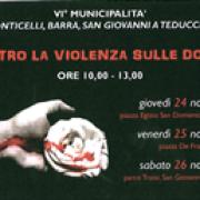giornata contro violenza donne 2016 napoli