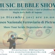 music bubble Show Pietrarsa