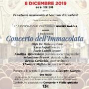 concerto Immacolata Napoli 2019