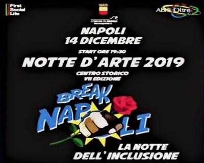 notte Arte Napoli 2019