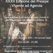 presepe Vivente Agerola 2019