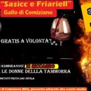 sagra Salsiccia Friarielli Comiziano