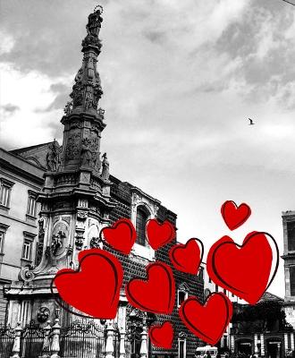 San Valentino Amore Centro Napoli