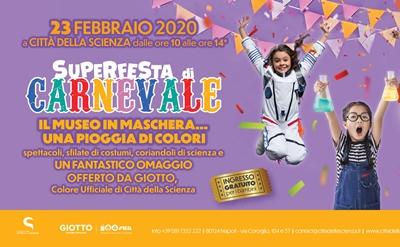 carnevale Citta Scienza 2020
