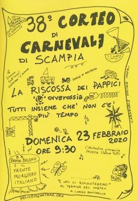 carnevale Scampia 2020